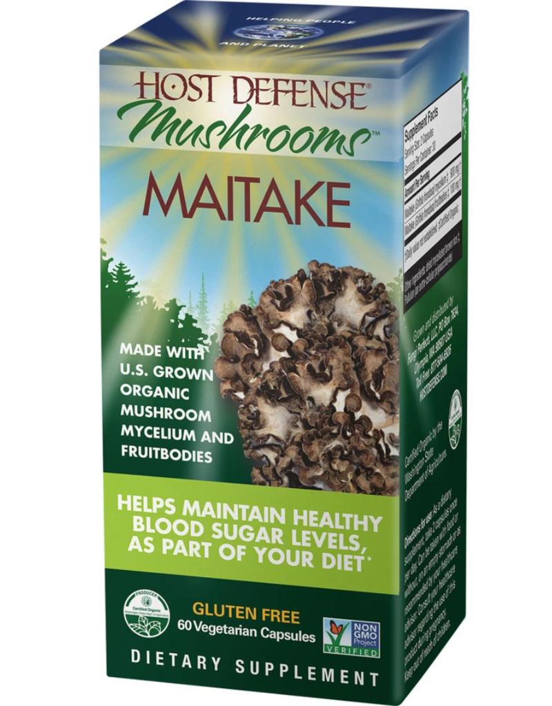 HOST DEFENSE MAITAKE 60 CT [s207/r235d] (di)