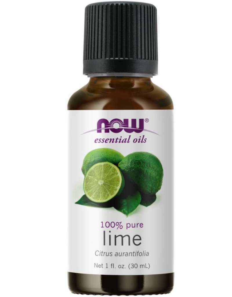 NOW FOODS ESSENTIAL OIL, LIME 1 OZ - OOSV