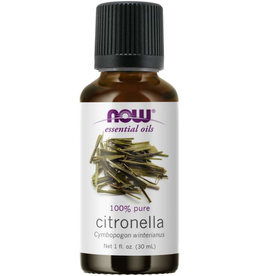 NOW FOODS ESSENTIAL OIL, CITRONELLA OIL 1 OZ