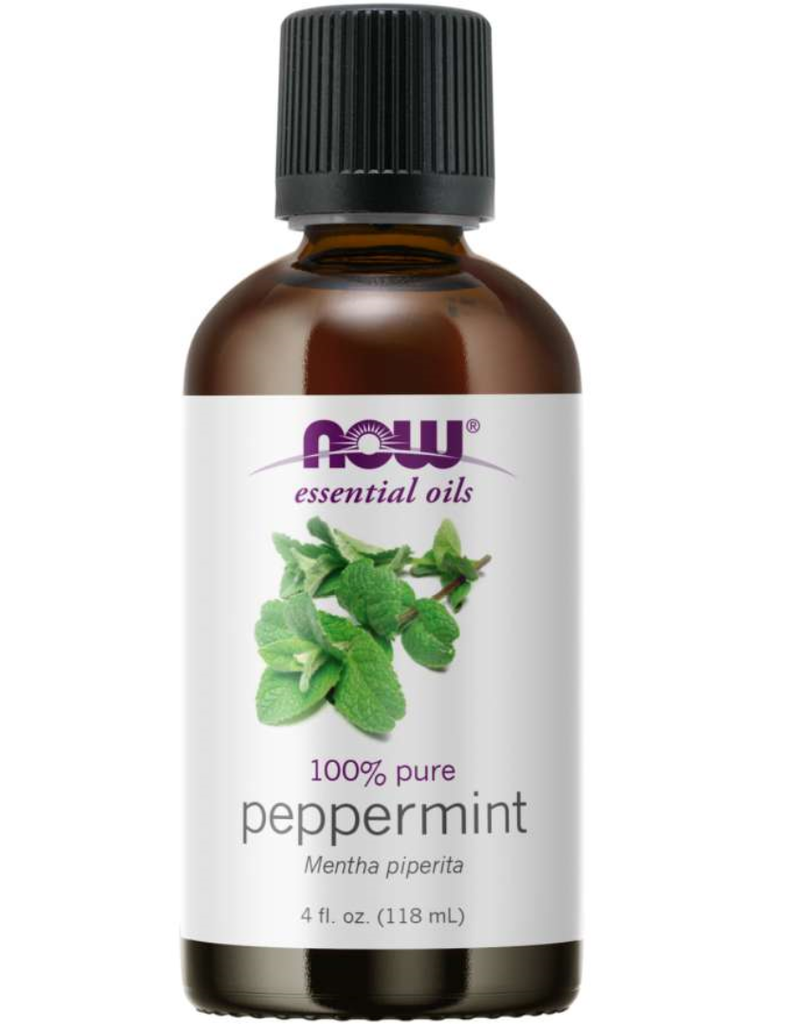 NOW FOODS ESSENTIAL OIL, PEPPERMINT OIL 4 FO