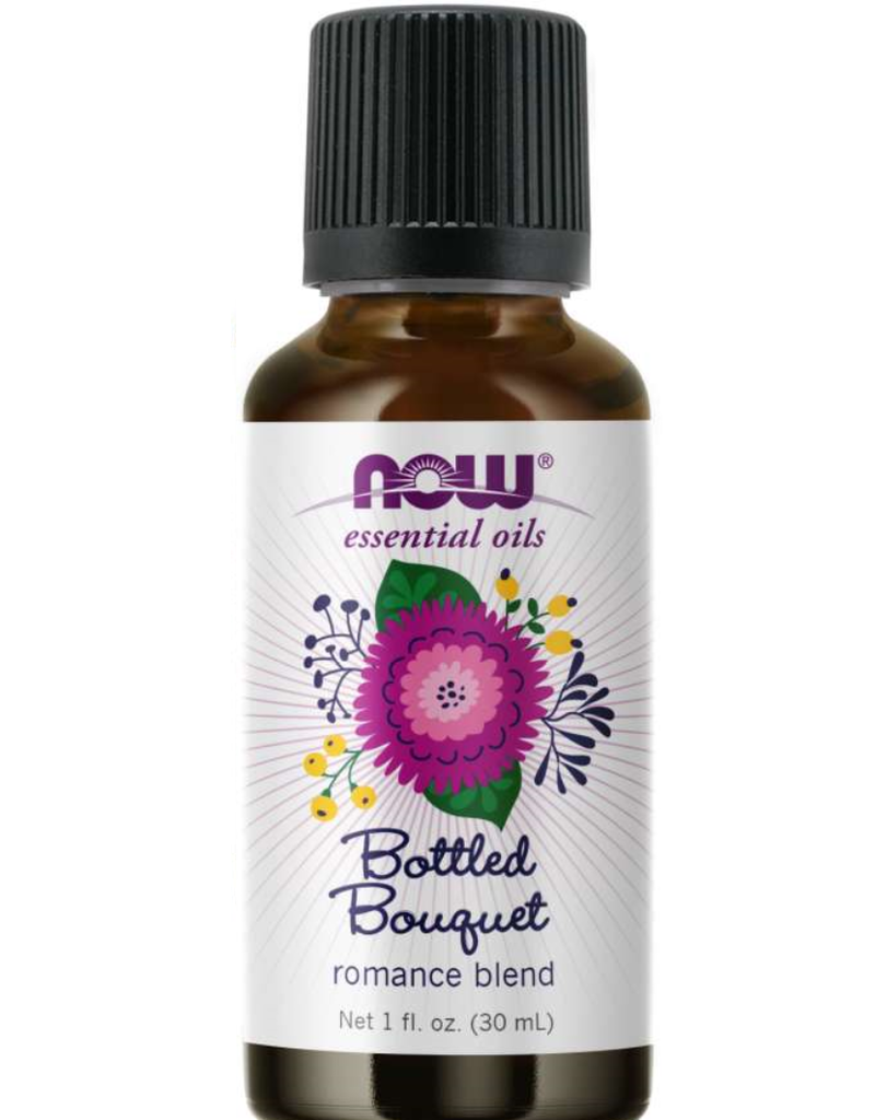 NOW FOODS ESSENTIAL OIL BLEND, BOTTLED BOUQUET 1 FO