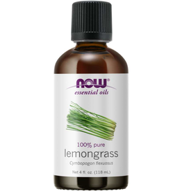 NOW FOODS ESSENTIAL OIL, LEMONGRASS 4 FO