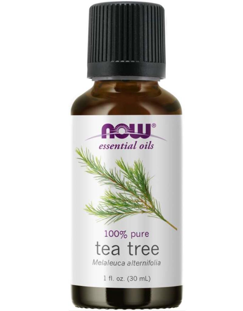 NOW FOODS ESSENTIAL OIL, TEA TREE 1 OZ