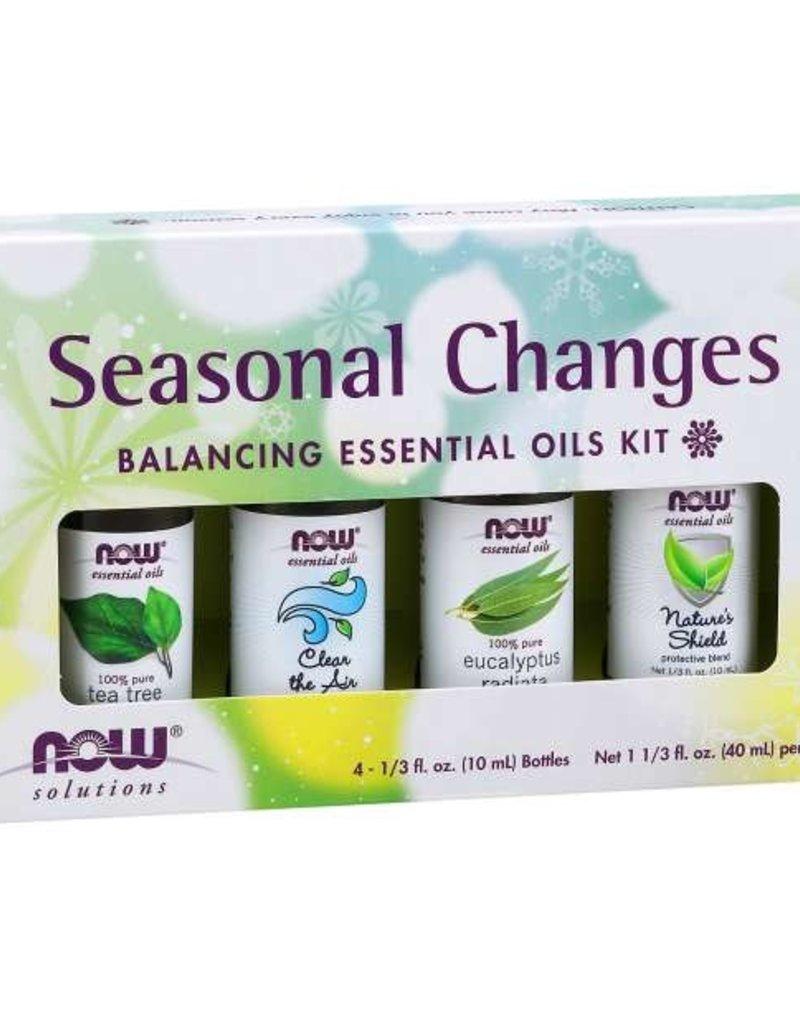 NOW FOODS SEASONAL CHANGES ESSENTIAL OIL KIT 4 PACK