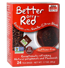 NOW FOODS TEA, BETTER OFF RED 24 CT