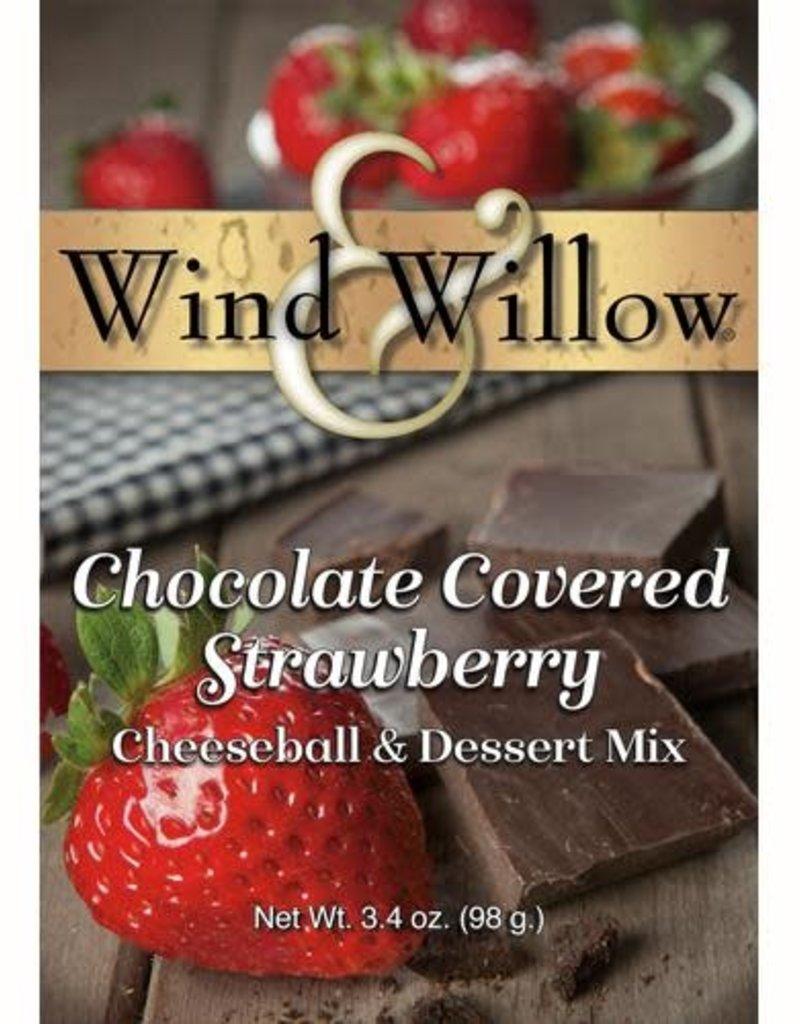 CHEESEBALL & DESSERT MIX, CHOC COVERED STRAWBERRY 5 OZ