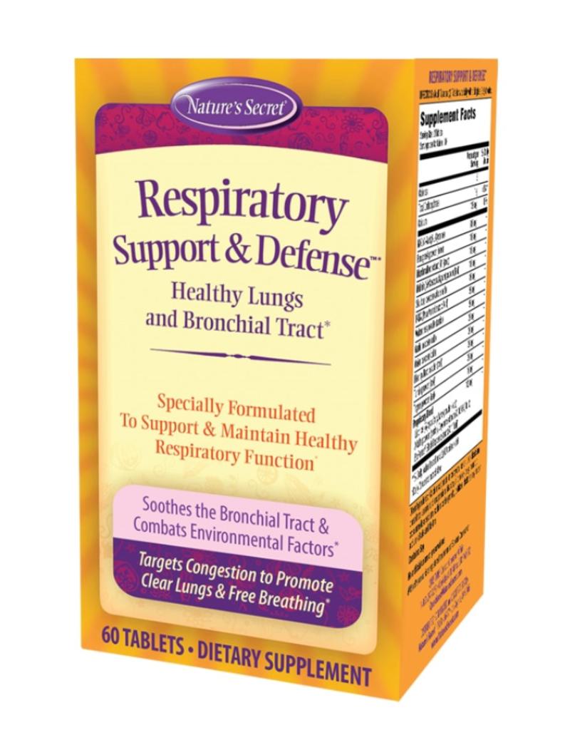 RESPIRATORY SUPPORT & DEFENSE (600 MG NAC) 60 TB