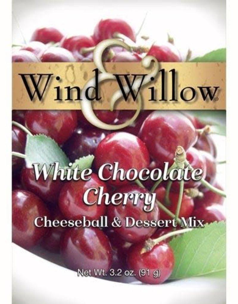 CHEESEBALL & DESSERT MIX, WHITE CHOCOLATE CHERRY 3.2 OZ -OD