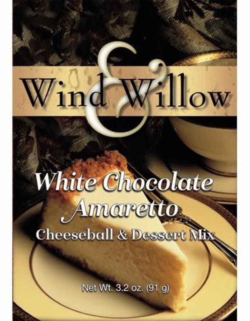 CHEESEBALL & DESSERT MIX, WHITE CHOCOLATE AMARETTO CHEESECAKE 3.2 OZ -OD [s98/r107] (di)
