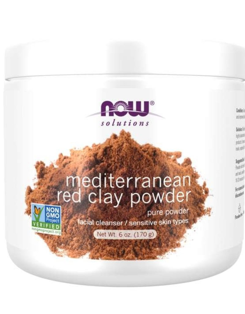 NOW FOODS MASK, MOROCCAN RED CLAY
