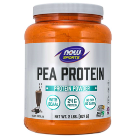 NOW FOODS PEA PROTEIN, CREAMY CHOCOLATE 2 LB