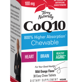 TERRY NATURALLY CoQ10 100 MG 30 ORANGE CHW - S