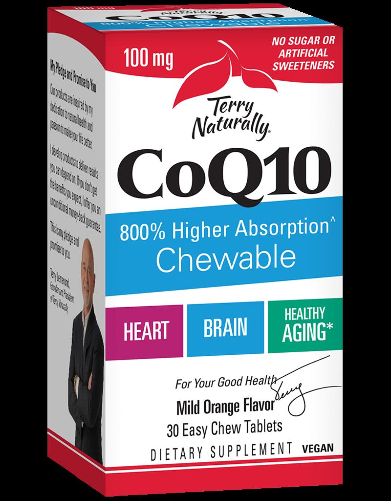 TERRY NATURALLY CoQ10 100 MG 30 ORANGE CHW -S