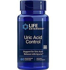 LIFE EXTENSION URIC ACID CONTROL 60 VC