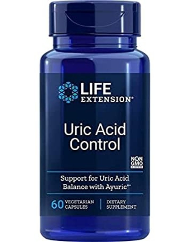 LIFE EXTENSION URIC ACID CONTROL 60 VC