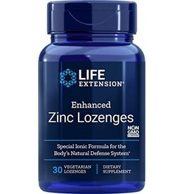 LIFE EXTENSION ENHANCED ZINC LOZENGES 30 LZ VEGETARIAN