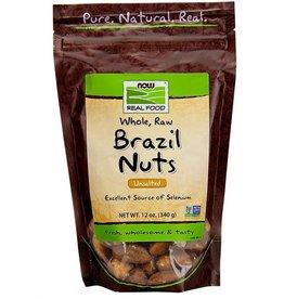 NOW FOODS BRAZIL NUTS WHOLE RAW 12OZ