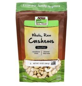 NOW FOODS CASHEWS, WHOLE RAW 10 OZ