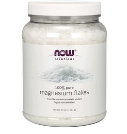 NOW FOODS MAGNESIUM FLAKES PURE 54 OZ