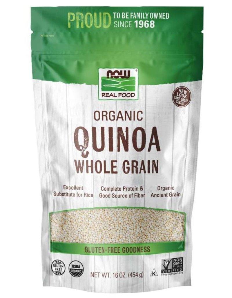 NOW FOODS QUINOA, WHITE ORGANIC 1LB [s361/r73] (di)