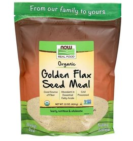 NOW FOODS GOLDEN FLAX MEAL, ORGANIC