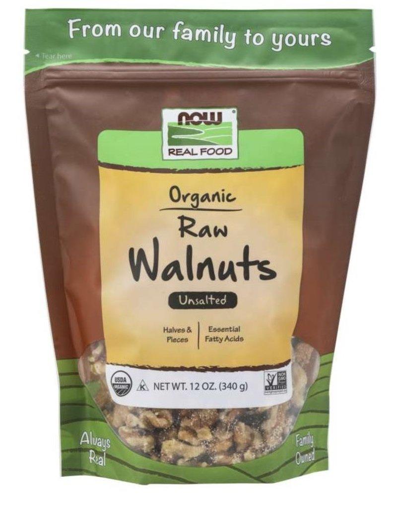 NOW FOODS WALNUTS, ORGANIC, RAW 12OZ