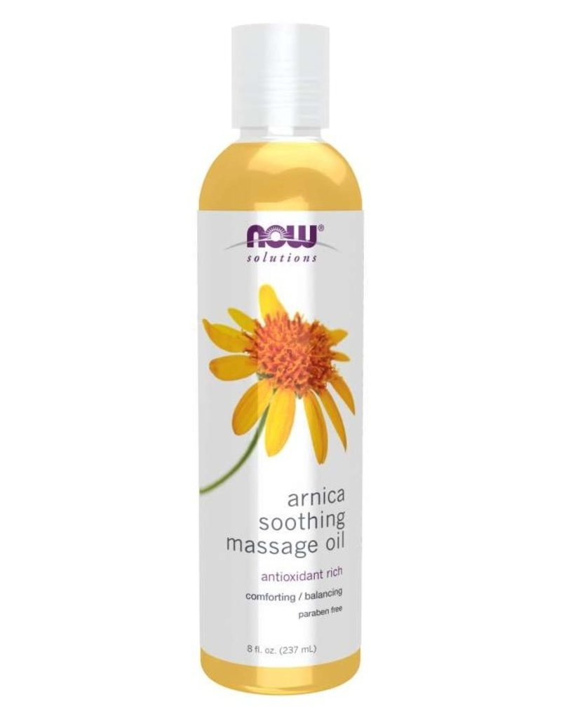 NOW FOODS ARNICA SOOTHING MASSAGE OIL 8 OZ