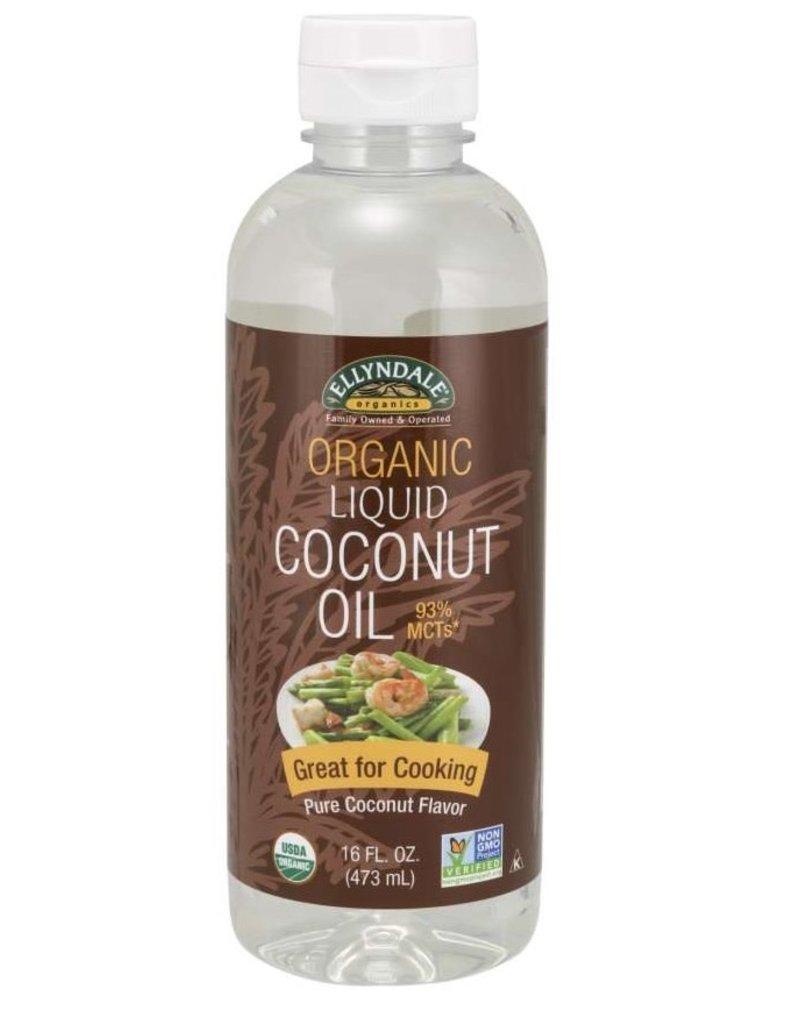 ELLYNDALE FOODS ORGANIC LIQUID COCONUT OIL 16 FL OZ
