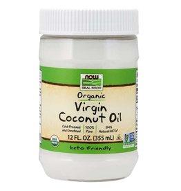 NOW FOODS ORGANIC VIRGIN COCONUT OIL NON GE