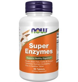 NOW FOODS SUPER ENZYMES 90TB - OOSVL