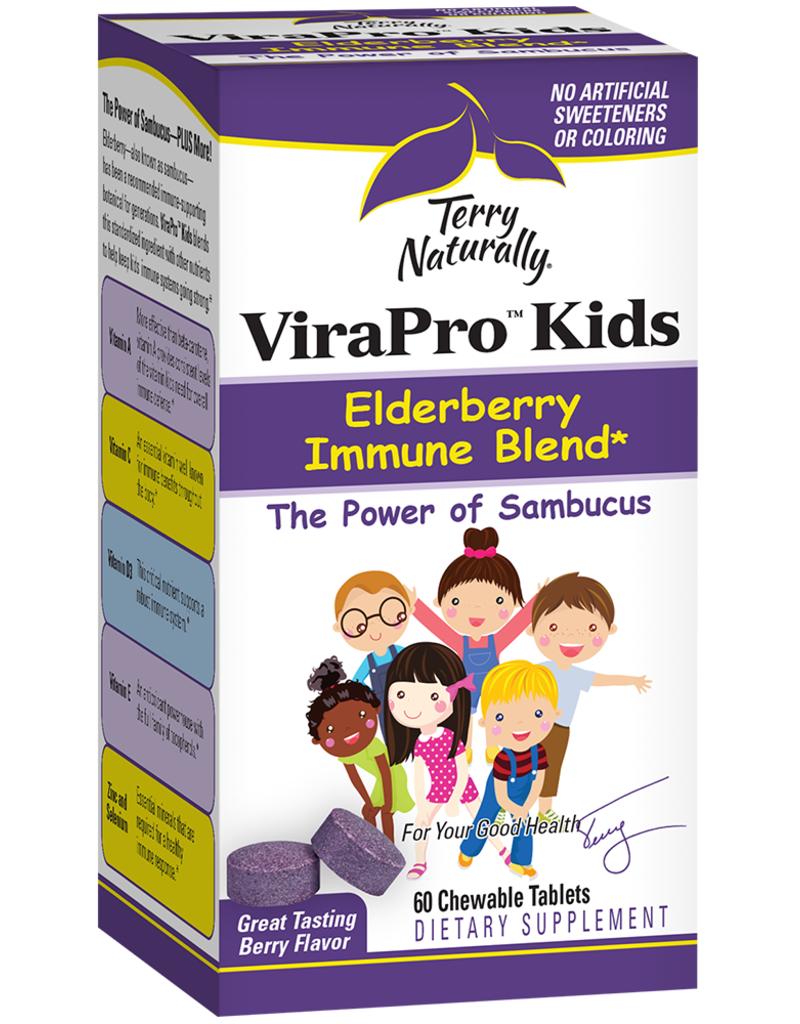 TERRY NATURALLY VIRAPRO KIDS - ELDERBERRY IMMUNE BLEND 60 CHW [s186/r251d] (di) -S