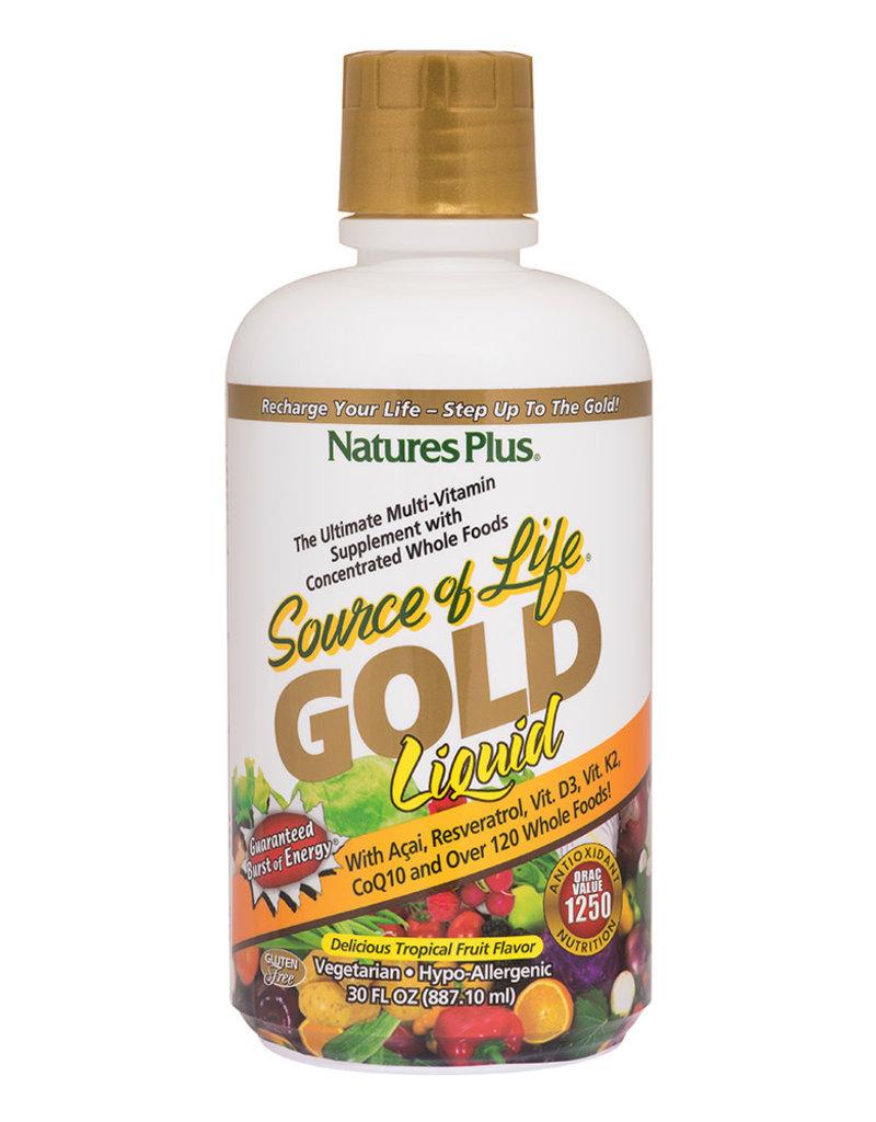 NATURES PLUS SOURCE OF LIFE GOLD LIQUID