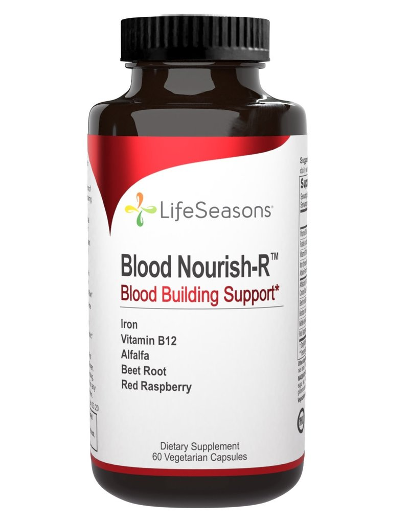 BLOOD NOURISH-R  BLOOD BUILDING SUPPORT / 50MG IRON 60 CP (FULL SIZE)  - BO