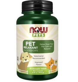 NOW FOODS PET, RELAXANT FOR CATS & DOGS 90 LZ