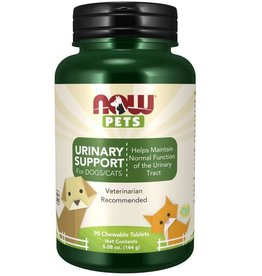 NOW FOODS PET, URINARY SUPPORT FOR CATS & DOGS 90 TB -N