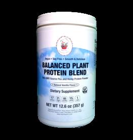 MARI-MANN BALANCED PLANT PROTEIN BLEND NATURAL VANILLA 12.6 OZ (m3)