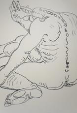 """Charles Garabedian """"Gesturing figure"""""""