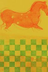 "David True ""Untitled (yellow horse)"""