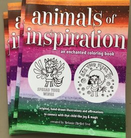 Animals of Inspiration Coloring Book Melanie Test