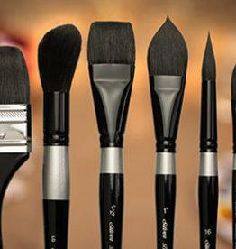 Silver Brush Ltd Silver Brush Black Velvet Oval Cats Tongue
