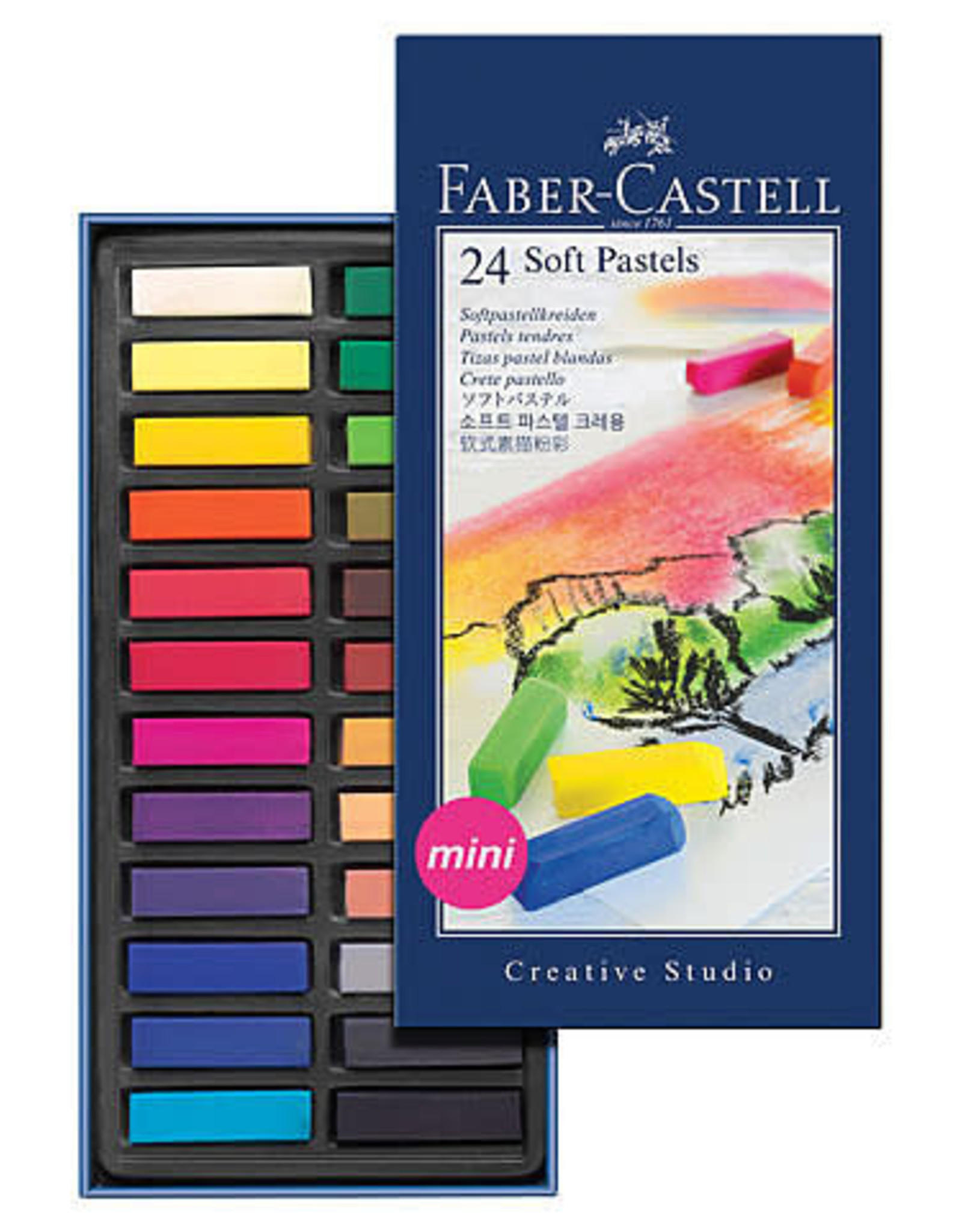 Faber-Castell Creative Studio Soft Chalk Pastel Sets