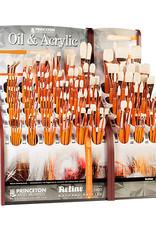 Princeton Art & Brush Co Refine Natural Bristle Brush Flat