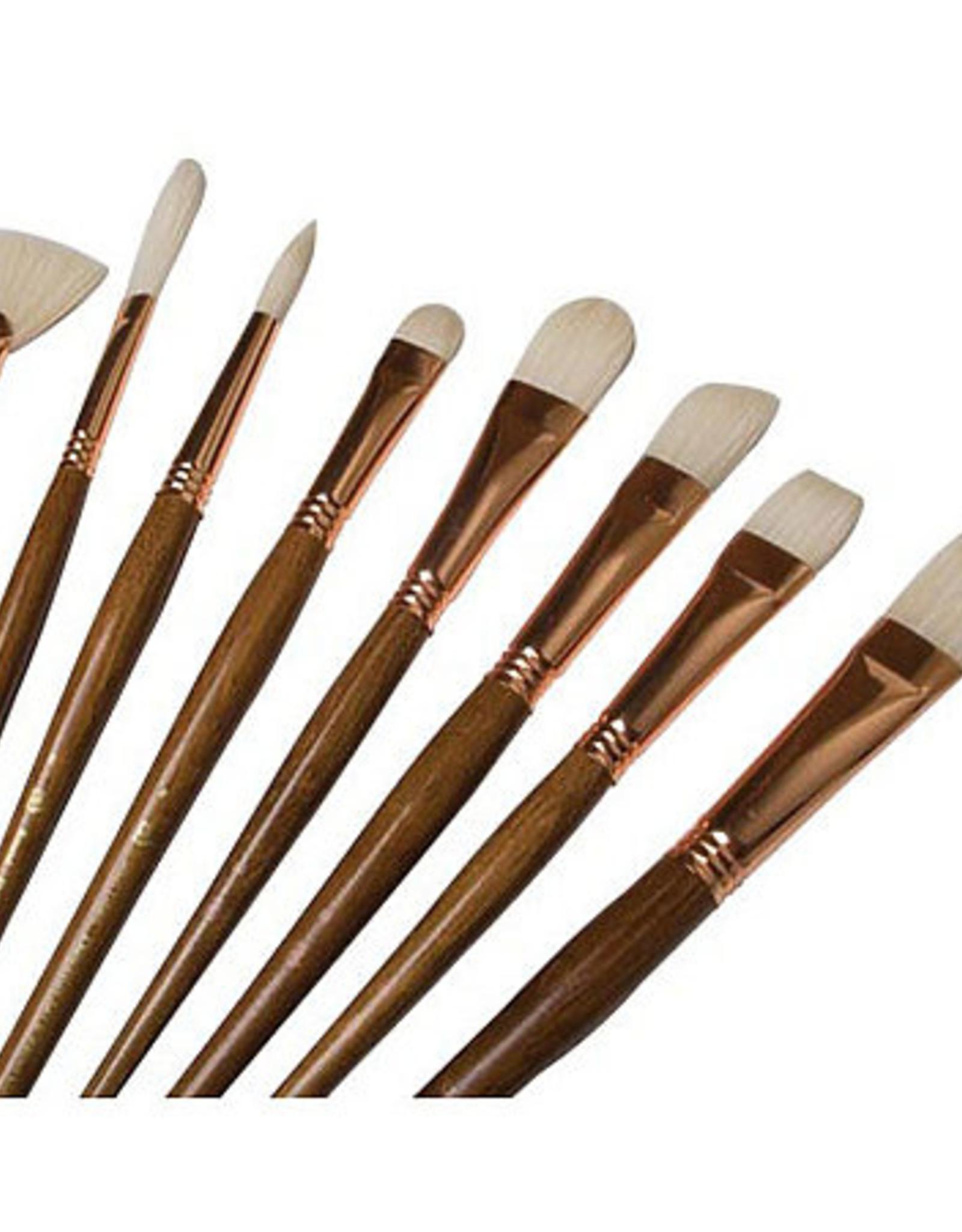 Princeton Art & Brush Co Refine Natural Bristle Brush Filbert
