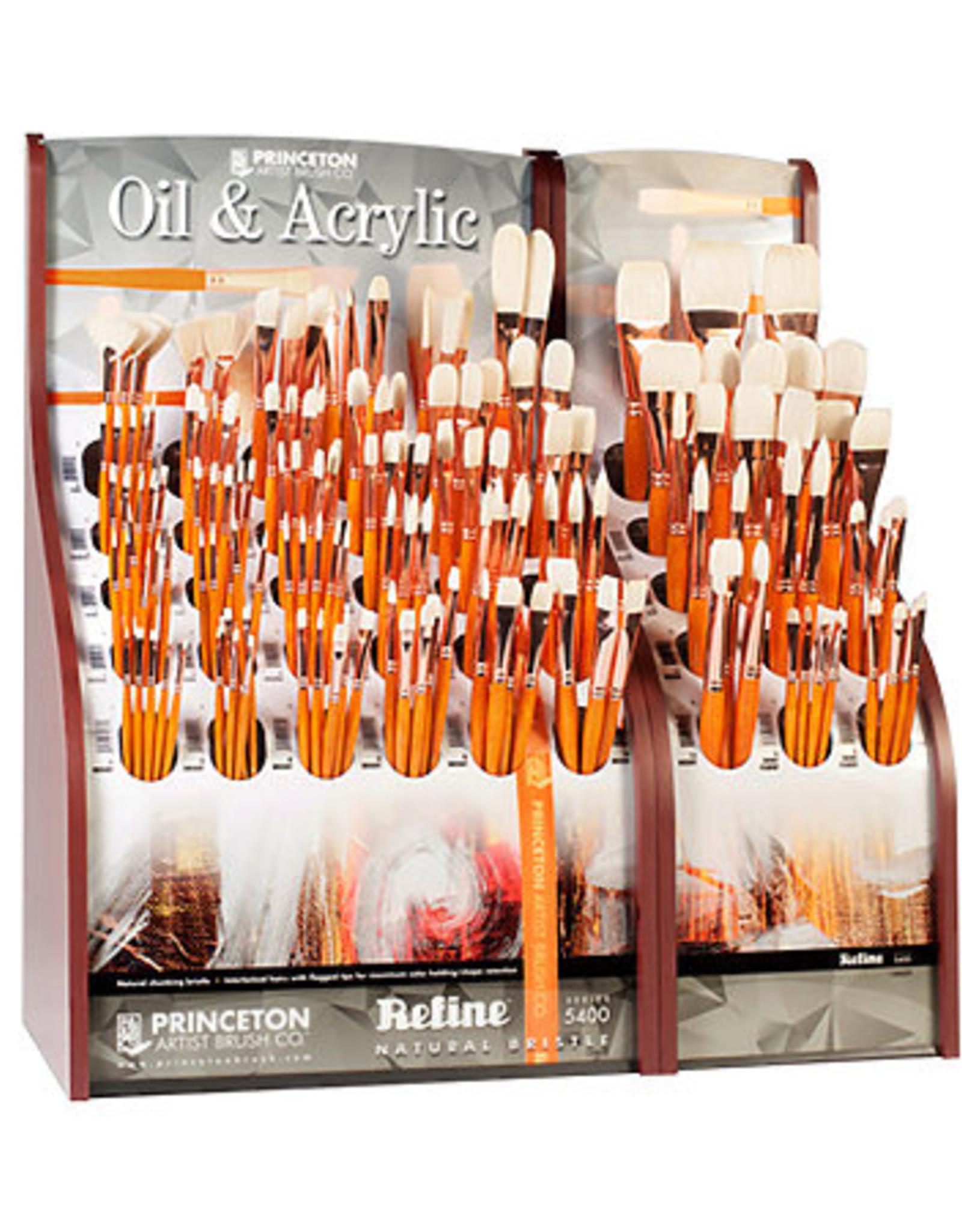 Princeton Art & Brush Co Refine Natural Bristle Brush Bright