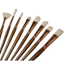 Princeton Art & Brush Co Refine Natural Bristle Brush Round