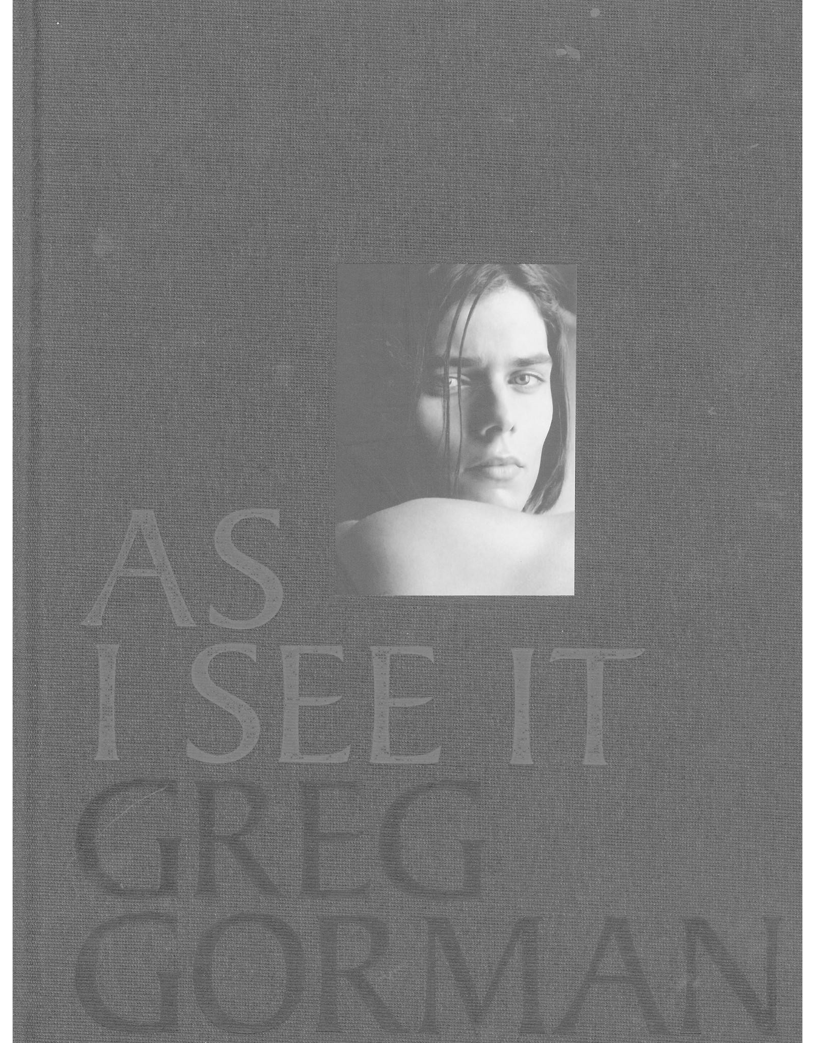 As I See It / Greg Gorman