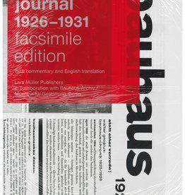 Bauhaus Journal 1926-1931 by Facsimile Ed and Lars Muller