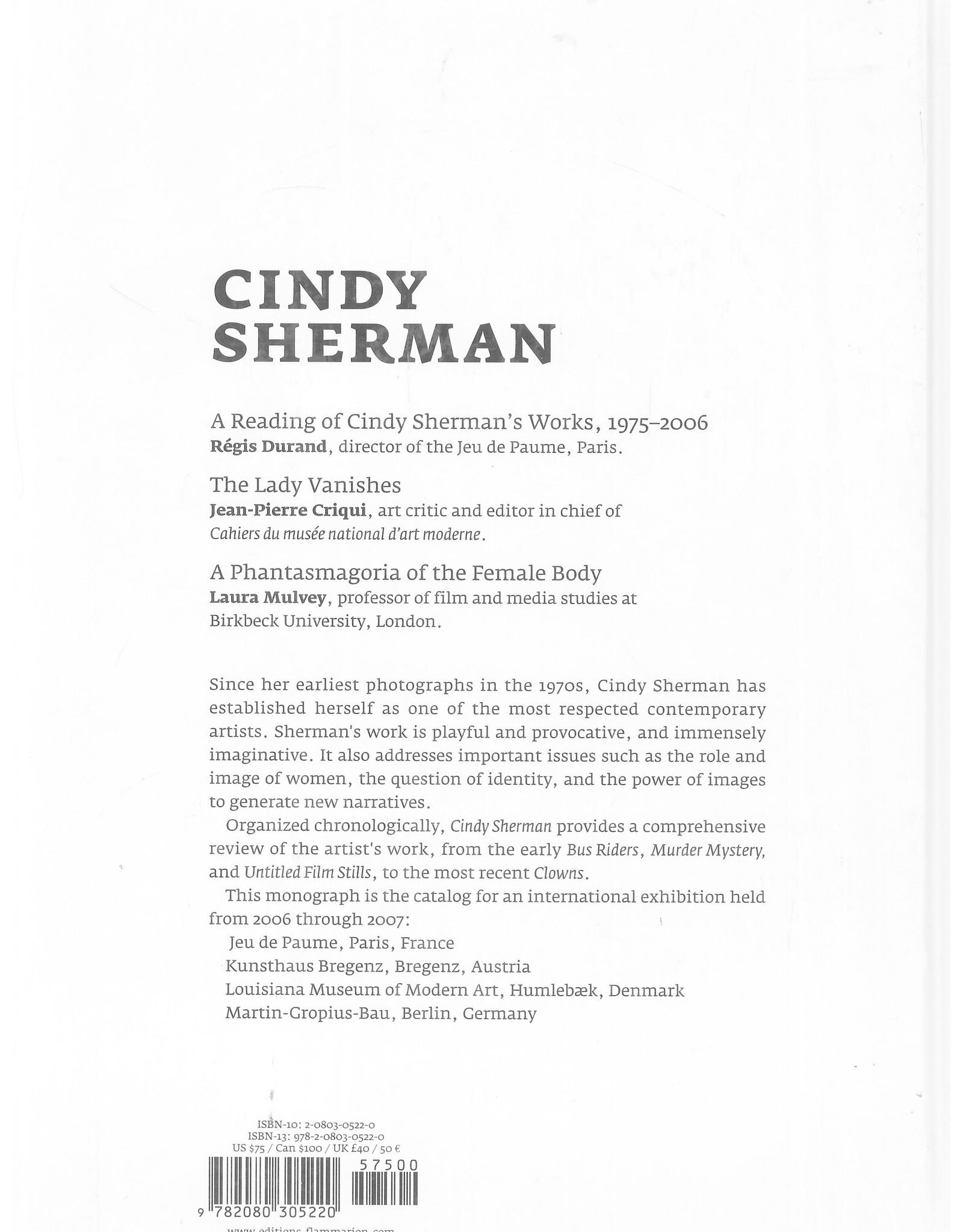 Cindy Sherman / Flammarion-Jue de Paume