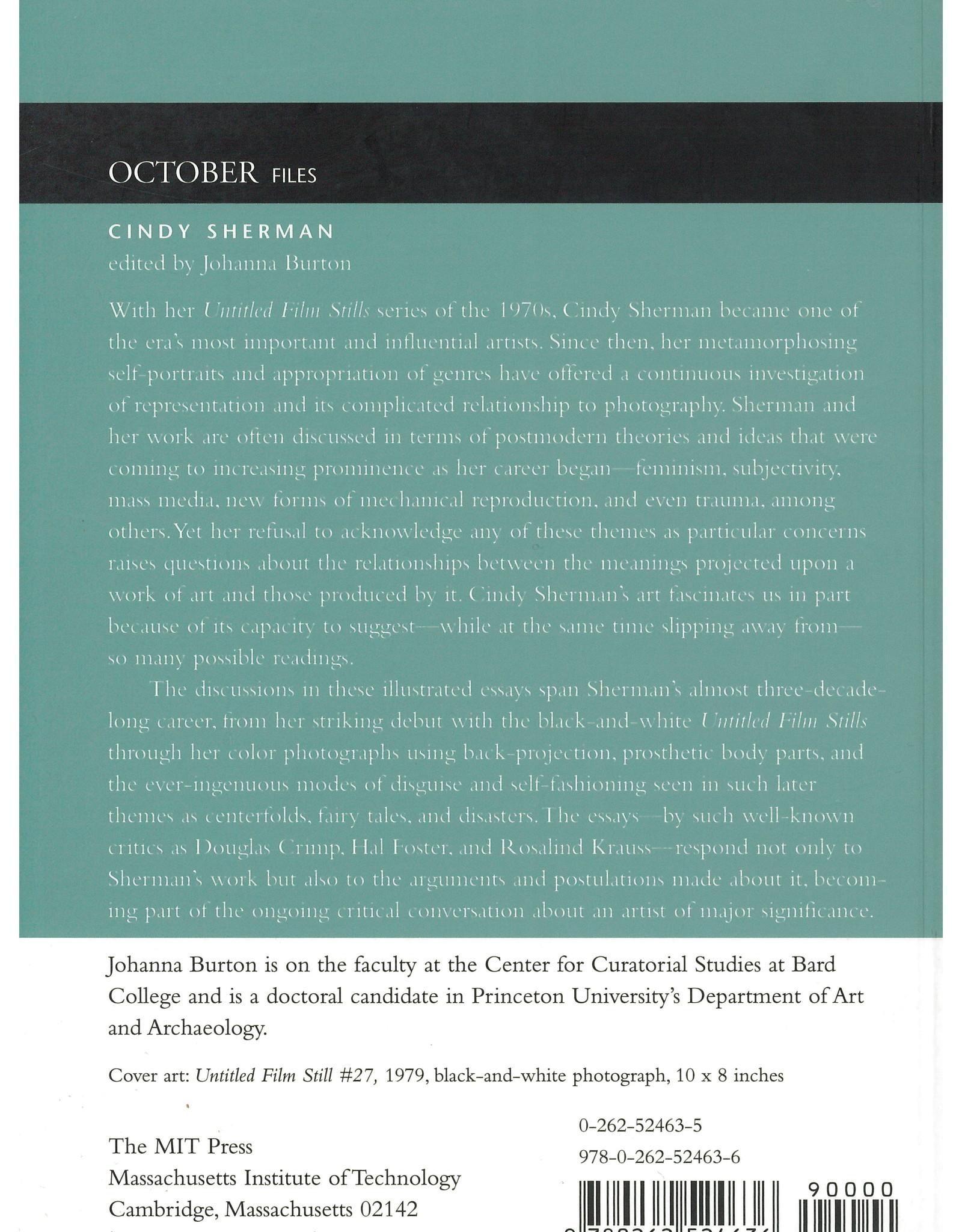 October Files - Cindy Sherman  / Johanna Burton