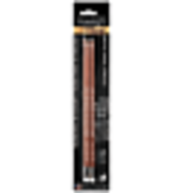 General Pencil White Chalk Pencil 2 Pack